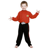 Wiggles Red Wiggle Toddler Costumes