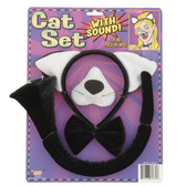 Cat Dress Up Set with sound