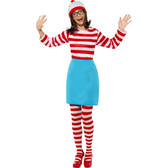 Wheres Wally? Wenda Womens Costume