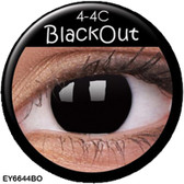 Crazy Lens Contacts - Black Out