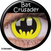 Crazy Lens Contacts - Bat Crusader