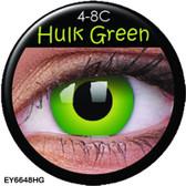 Crazy Lens Contacts - Hulk Green