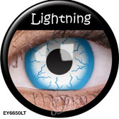 Crazy Lens Contacts - Lightning