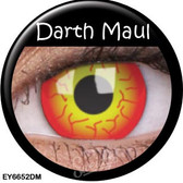 Crazy Lens Contacts - Darth Maul