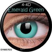 Crazy Lens Contacts - Emerald Green