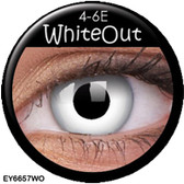 Crazy Lens Contacts - White Out