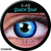 Crazy Lens Contacts - Space Blue