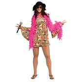 1960's Hippie - Psychadelia Chick Womens Costumes
