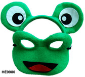 Animal Headband & Mask Set - Frog