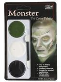 Copy of Copy of Tri-Colour Make-up Palette-Monster
