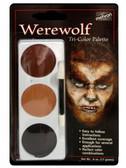 Tri-Colour Make-up Palette-Werewolf