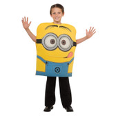 Despicable Me-Deluxe Minion Dave Child Costume