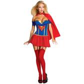 Supergirl Justice League Women's Costume