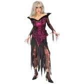 Creeping Beauty Scary Tale Womens Costume