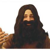 Jesus Wig & Beard Disciple Set