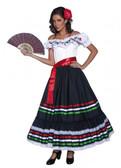 Authentic Western Senorita Women's Costume