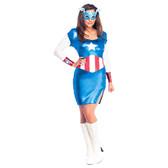 MISS CAPTAIN AMERICA Costume