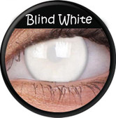 Crazy Lens Contacts - Blind White