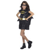 Batgirl Superhero Sequin Toddler/Girls Costume