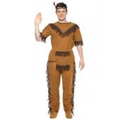 Indian Brave Native American Mens Costume