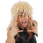 80s Rocker Blonde Wig