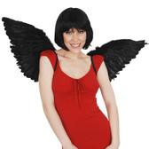 Angel & Fairy Wings Large Black