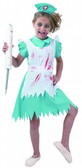 Blood Splattered Nurse Girls Costume