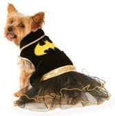 Batgirl Pet Tutu Costume