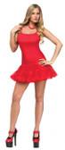 Petticoat Dress Adult Red