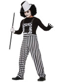 Harlequin Clown Mime Adult Costume