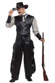 Cowboy Western Gambler Mens Costume