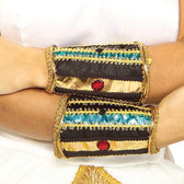 Cleopatra Egyptian Cuffs