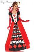 Alice in Wonderland Queen of Hearts Womens Costume