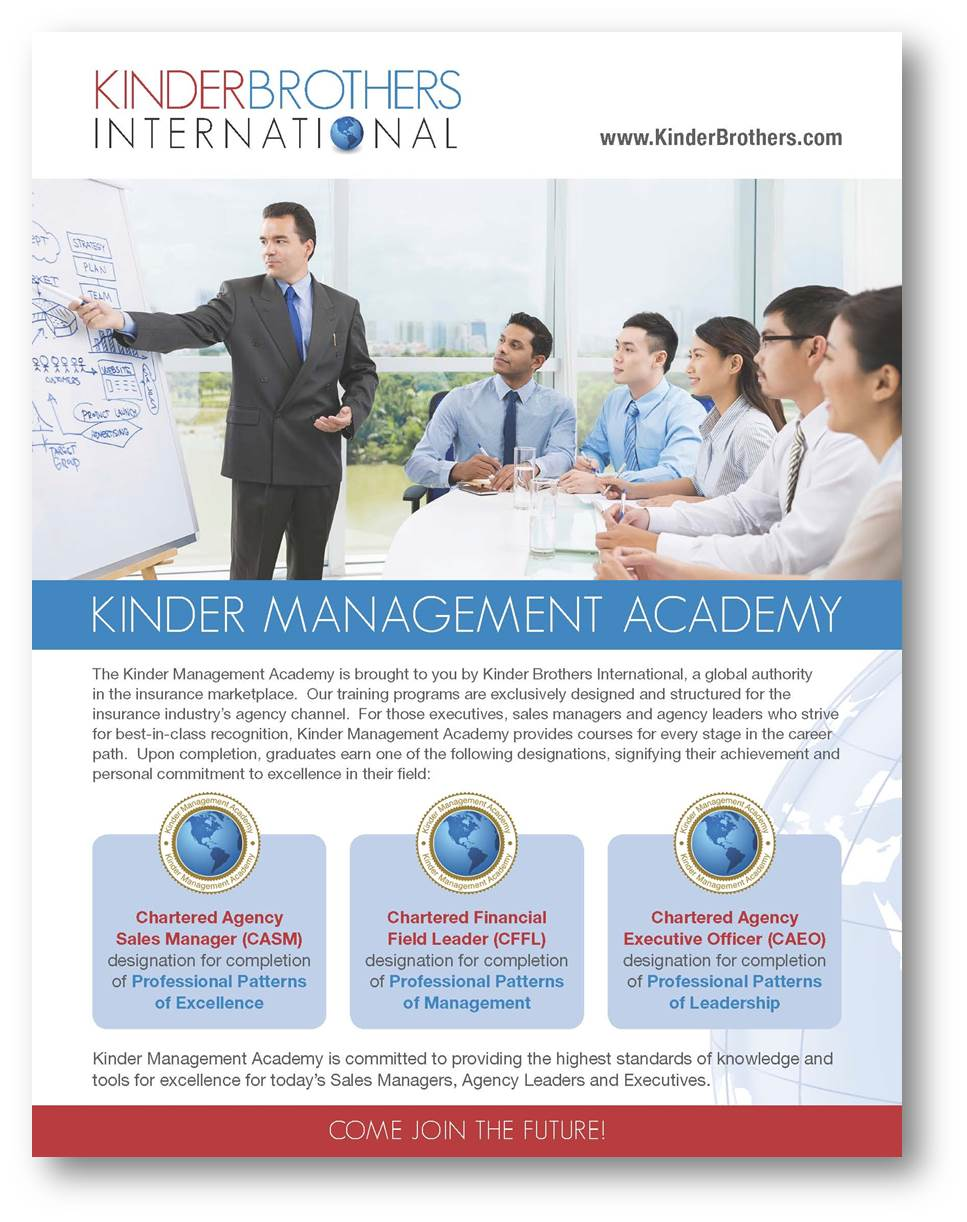 Kinder Management Academy Brochure
