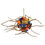 <div>Supernova Wood &amp; Rope Parrot Toy - Small</div>