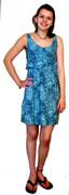 Short Ruffle Top Dress