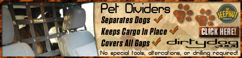 Dirty Dog Pet Dividers