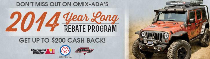 Omix-ADA 2014 Rebate