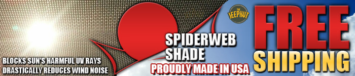FREE Shipping On ALL SpiderWeb Shadow Products!