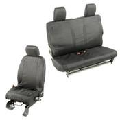 Rugged Ridge, 13256.03 - Elite Ballistic Seat Cover Set, 2 Door; 11-17 Jeep Wrangler JK