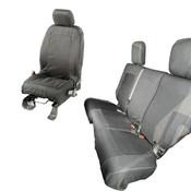 Rugged Ridge, 13256.04 - Elite Ballistic Seat Cover Set, 4 Door; 11-17 Jeep Wrangler JKU