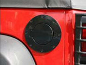 Rugged Ridge, 11229.02 - Non-Locking Gas Cap Door, Black, 07-14 Jeep Wrangler (11229.02)