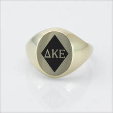 ΔKE Small Oval Ring