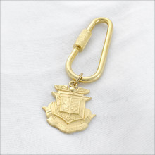 ΔKE Oblong Fob Key Ring