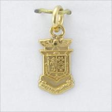 ΔKE Crest Charm