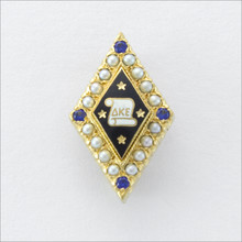 ΔKE Sweetheart Badge