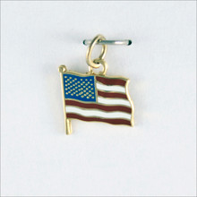 American Flag Dangle