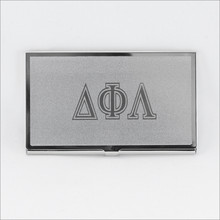 ΔΦΛ Business Card Holder