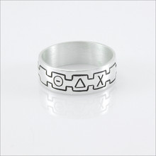 ΘΔΧ Monogram Band Ring