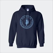 ΨΒ Logo Hooded Sweatshirt